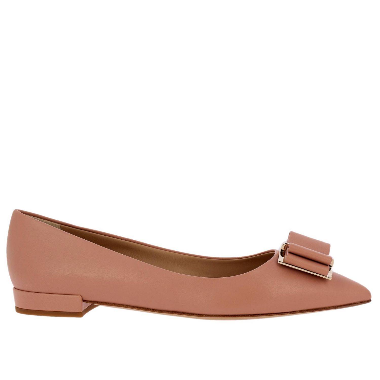 鞋 女士 Salvatore Ferragamo 裸色 1