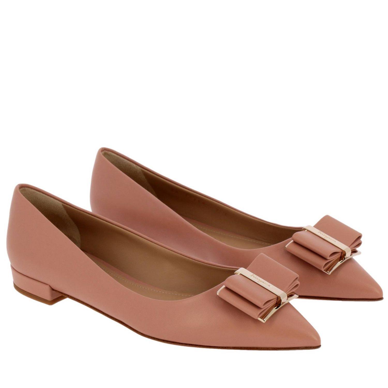 鞋 女士 Salvatore Ferragamo 裸色 2