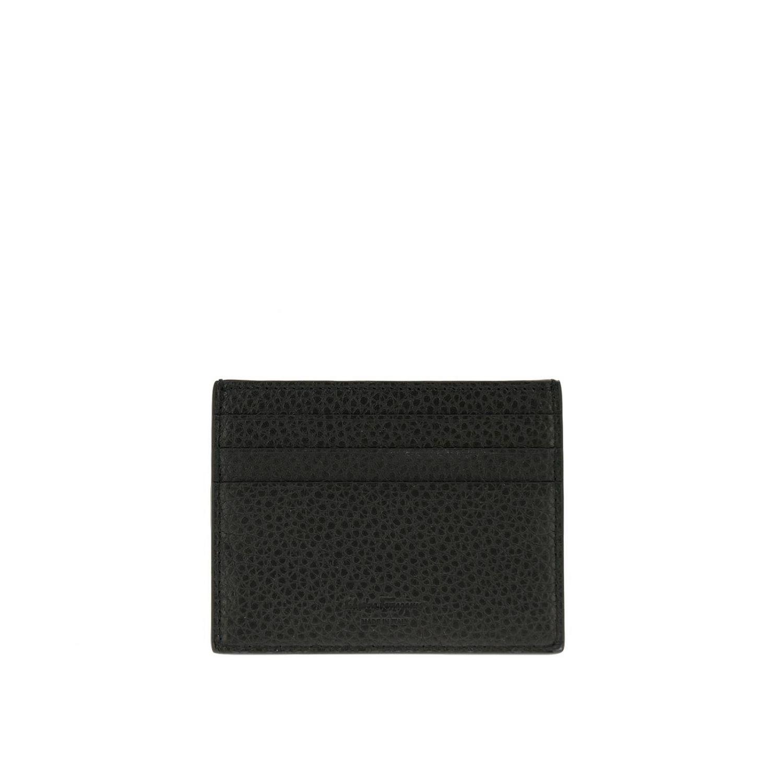 Wallet men Salvatore Ferragamo black 2