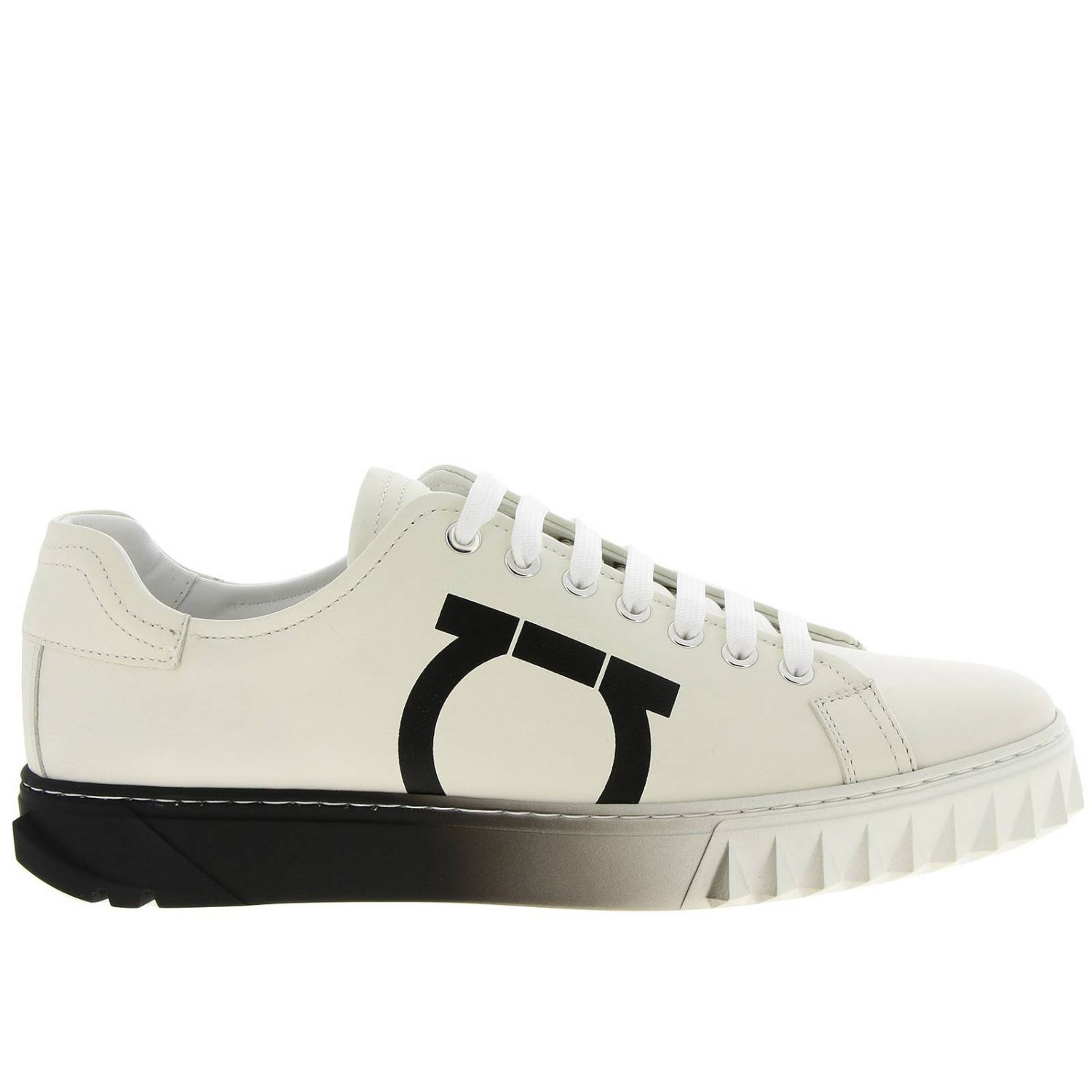 Shoes men Salvatore Ferragamo white 1