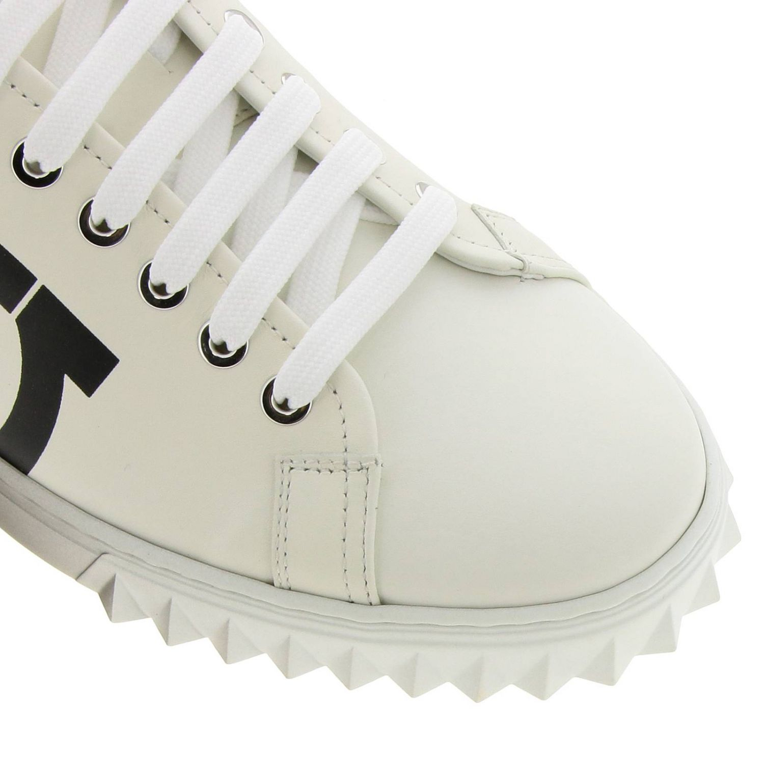 Shoes men Salvatore Ferragamo white 3