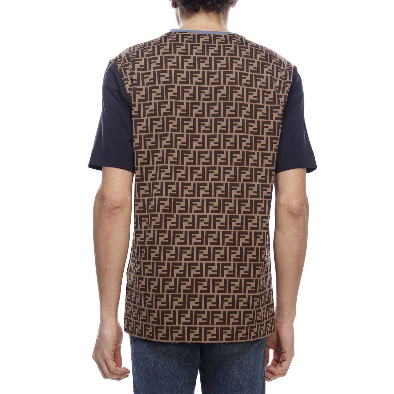 T-Shirt Fendi: T-shirt herren Fendi braun 3