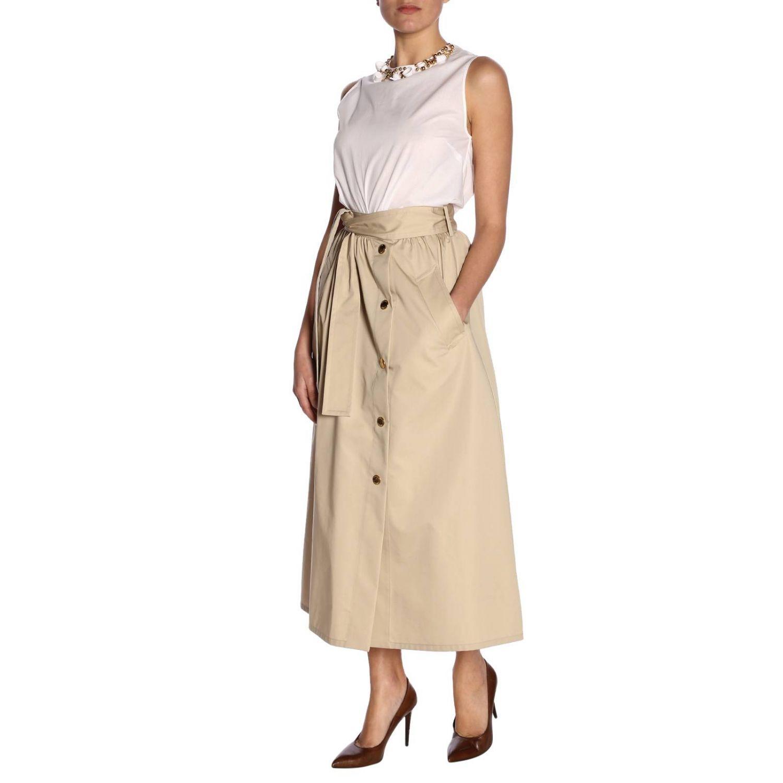 Top women Boutique Moschino white 6