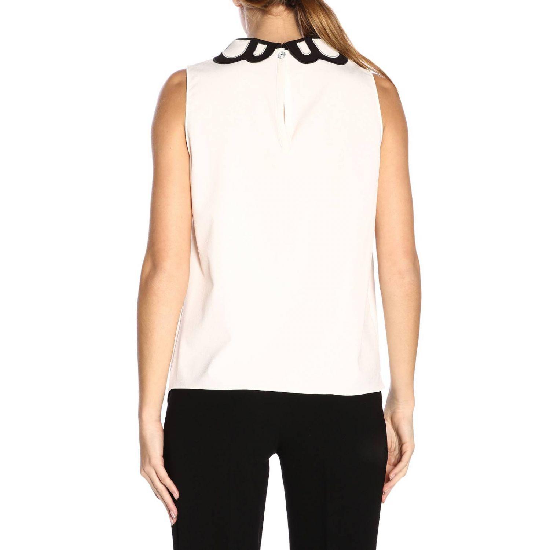 Top women Boutique Moschino white 3