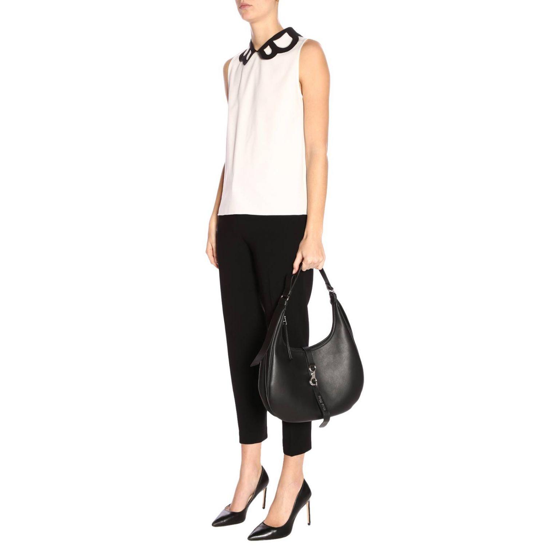 Top women Boutique Moschino white 4