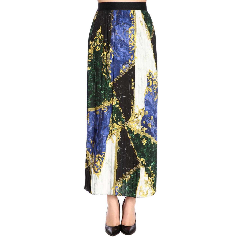 Skirt women Versace Collection blue 1
