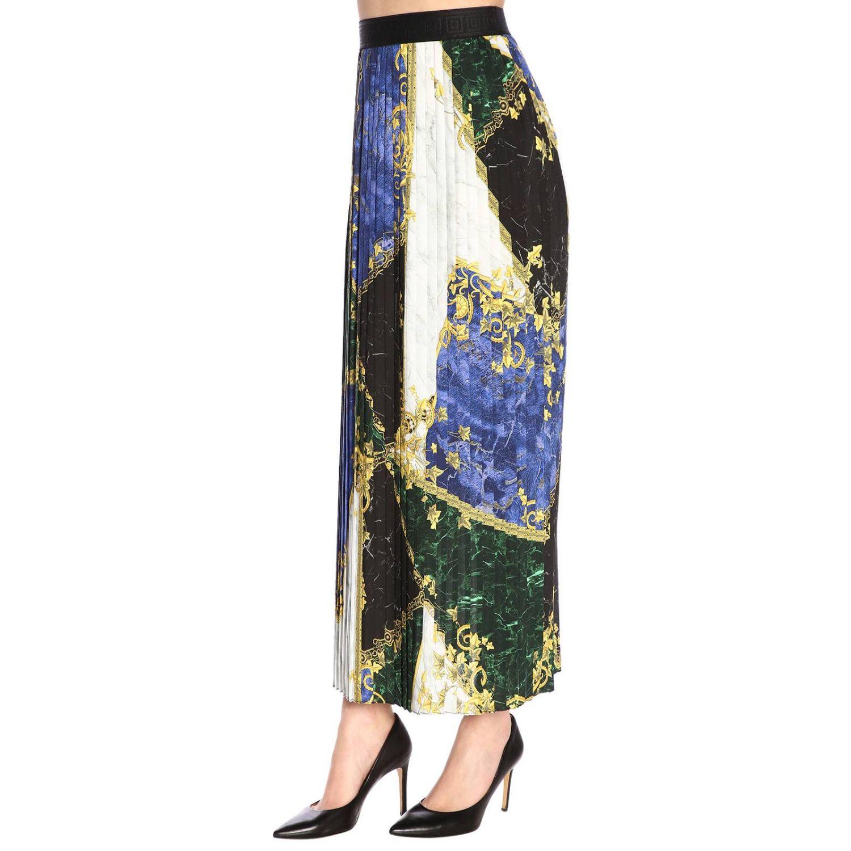 Skirt women Versace Collection blue 2
