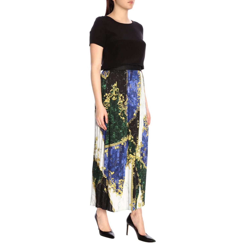 Skirt women Versace Collection blue 4