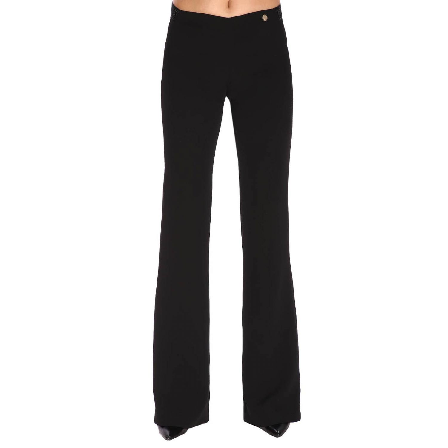 Trousers women Versace Collection black 1