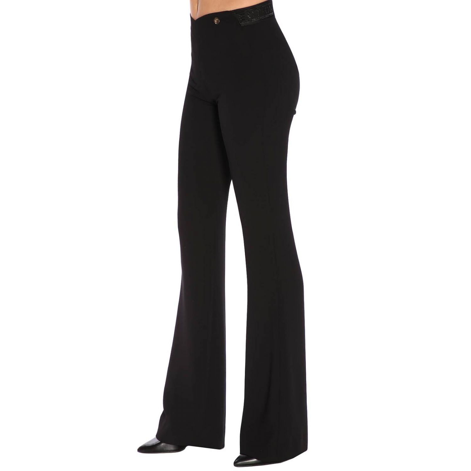 Trousers women Versace Collection black 2