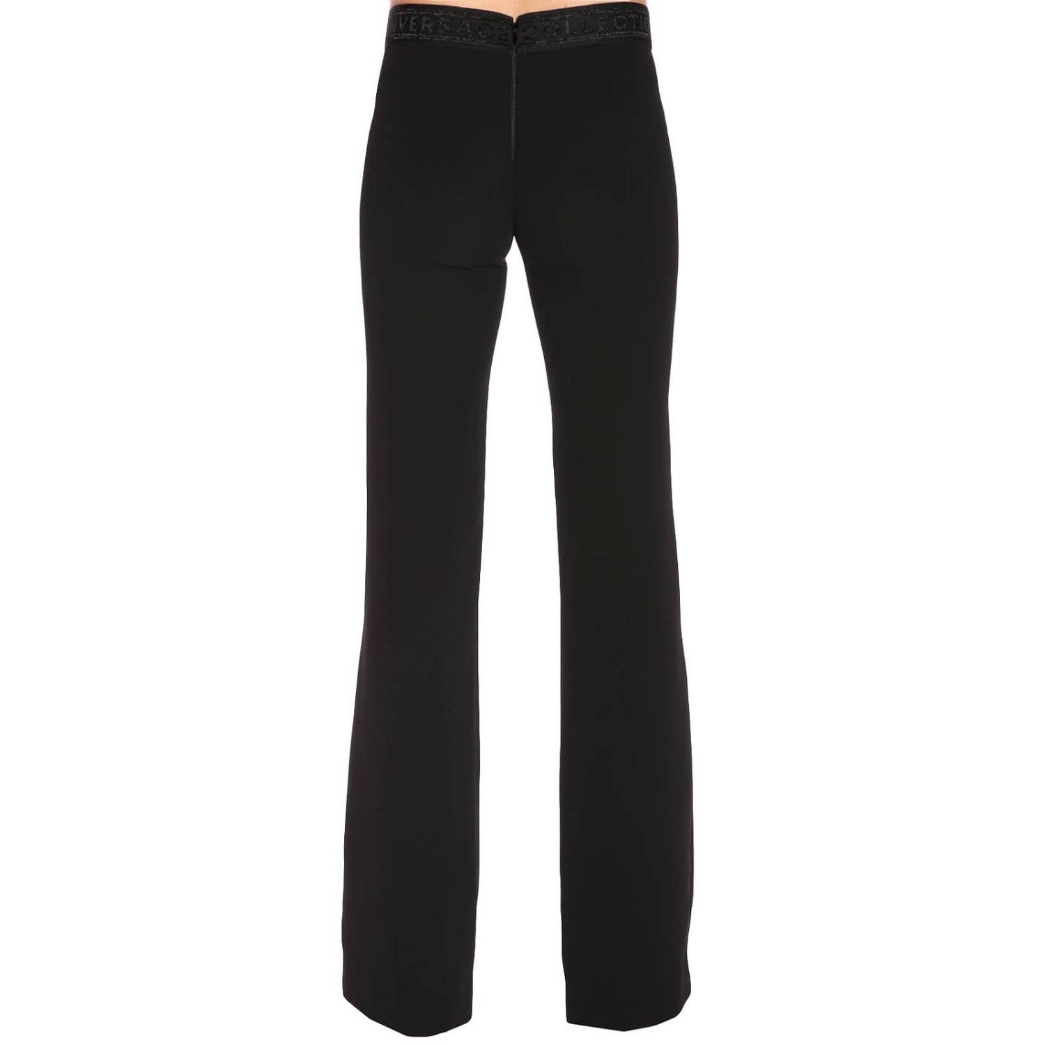 Trousers women Versace Collection black 3