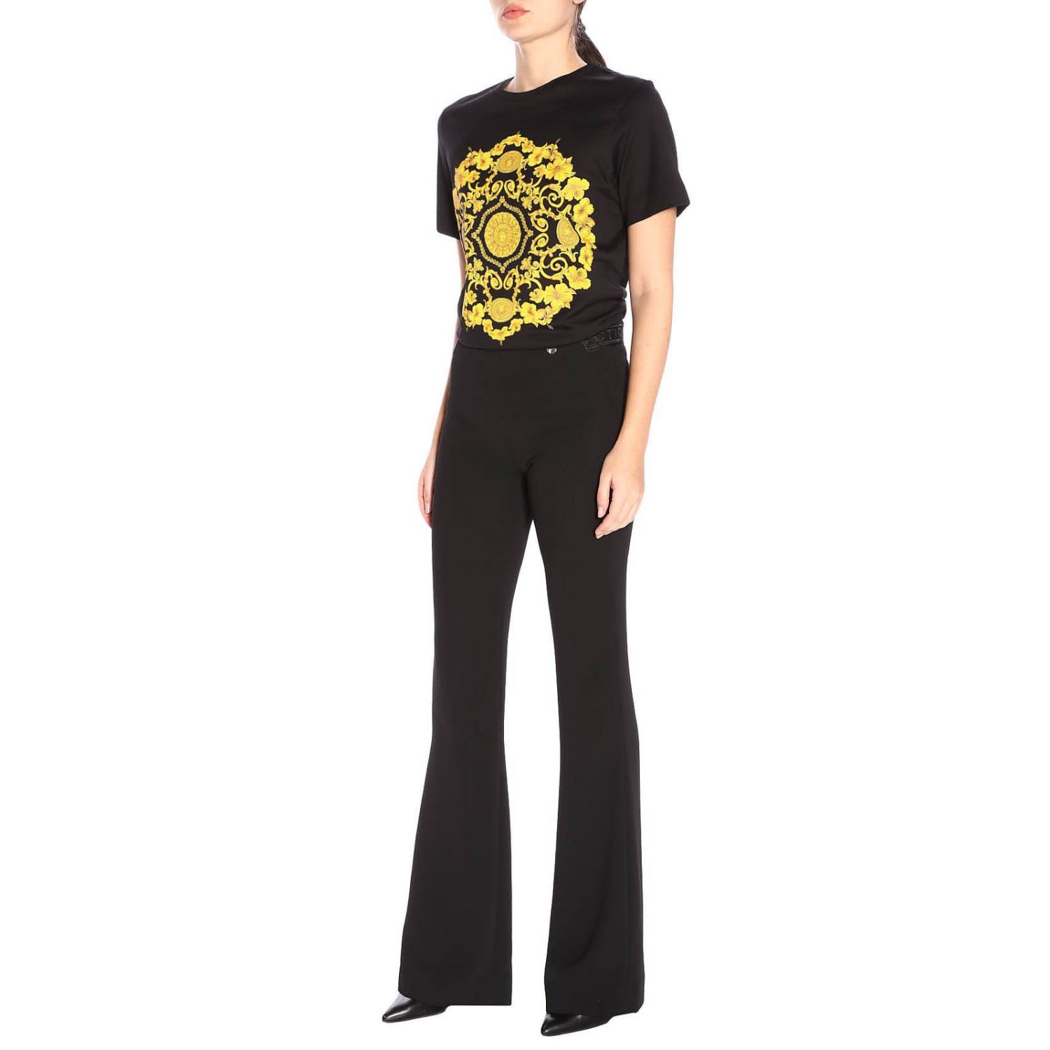 Trousers women Versace Collection black 4