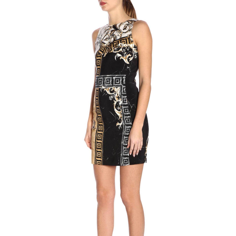 Dress women Versace Collection black 2