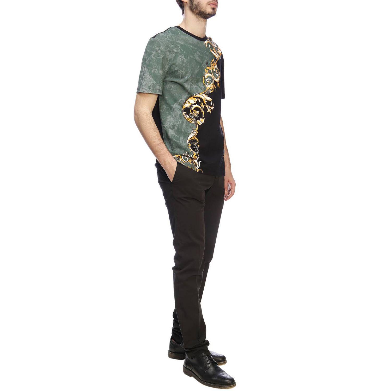 T-shirt men Versace Collection black 4