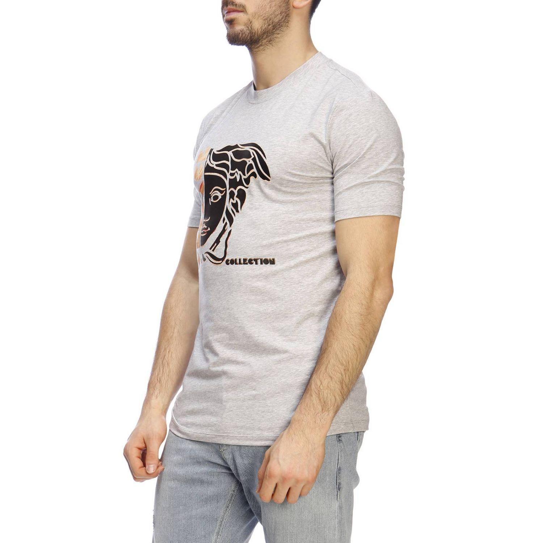 T-shirt men Versace Collection grey 2