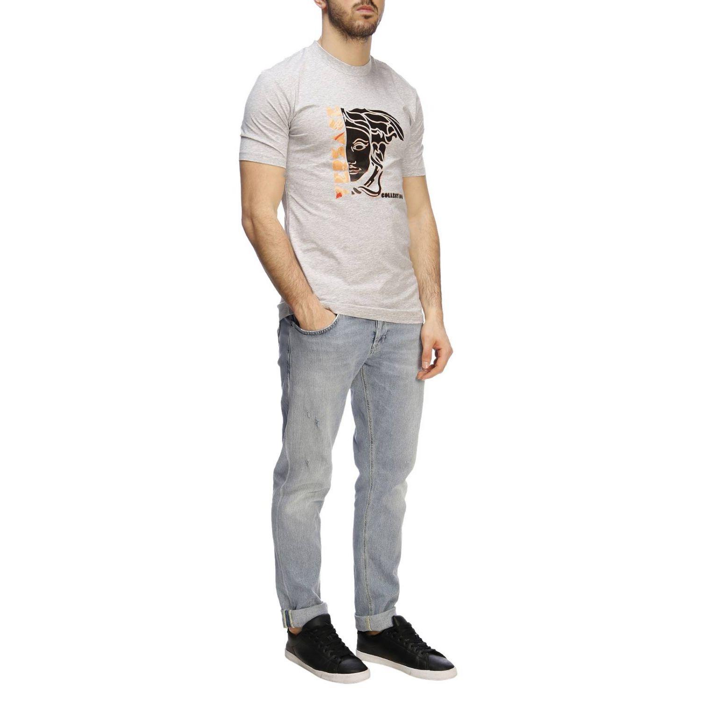 T-shirt men Versace Collection grey 4