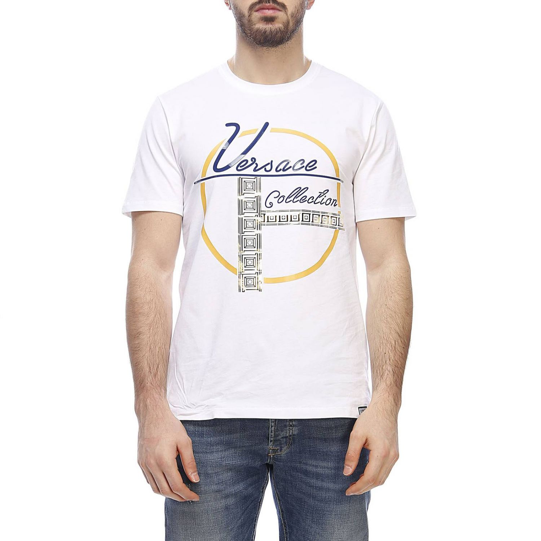 T-shirt men Versace Collection white 1