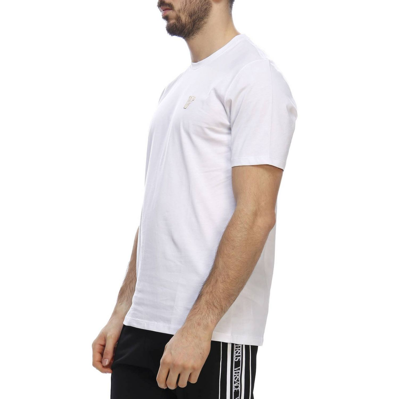T-shirt men Versace Collection white 2