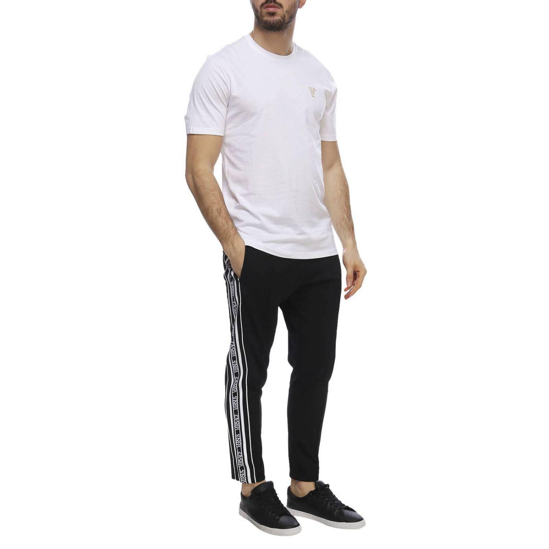 T-shirt men Versace Collection white 4