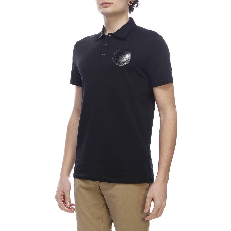 T-shirt men Versace Collection black 2