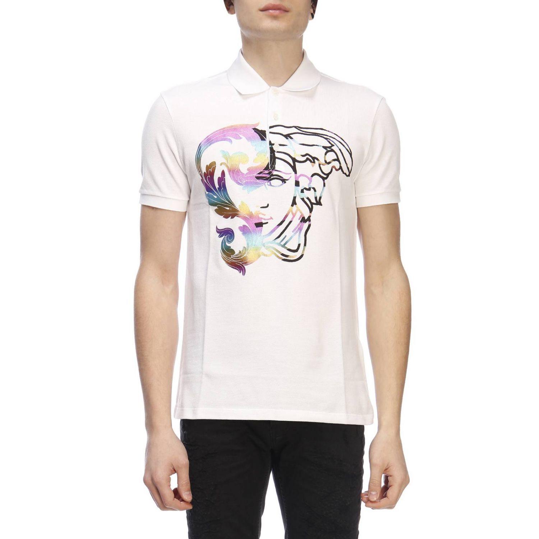 Футболка Мужское Versace Collection белый 1