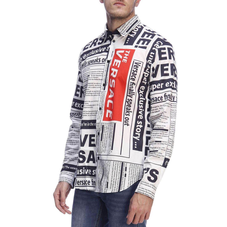 Рубашка Мужское Versace белый 2