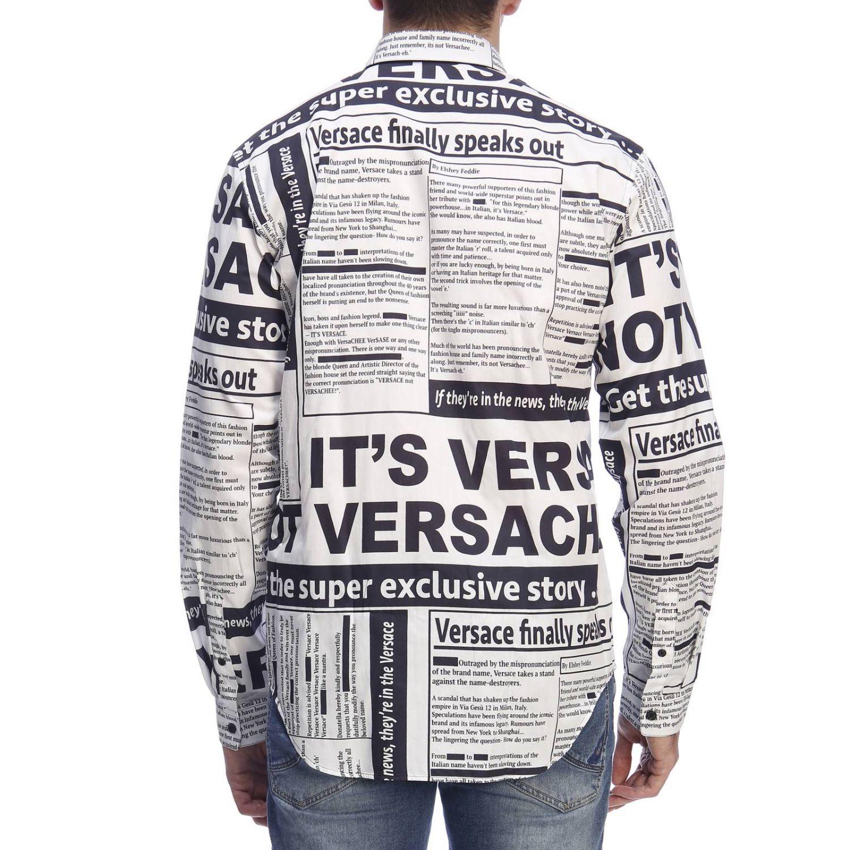 Рубашка Мужское Versace белый 3