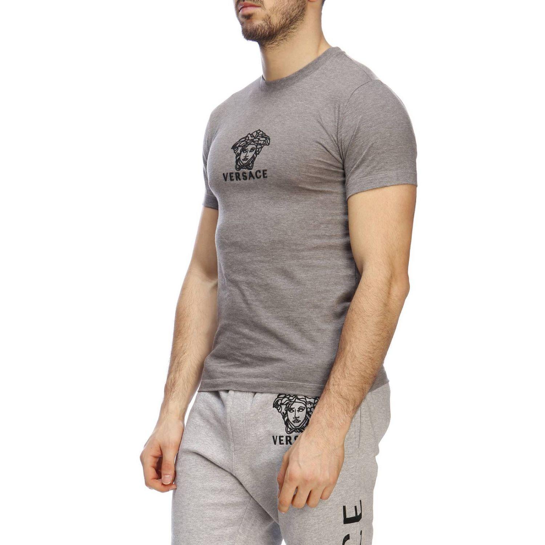 T-shirt men Versace grey 2