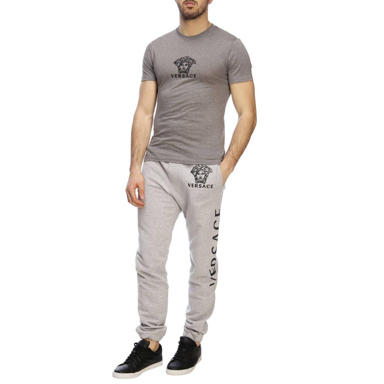 T-shirt men Versace grey 4