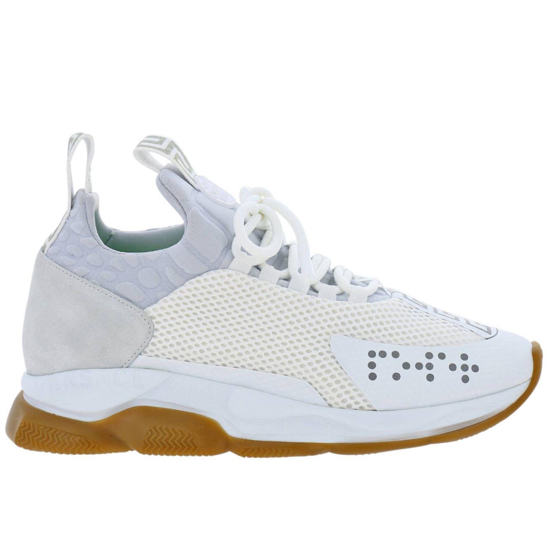 Shoes men Versace white 1