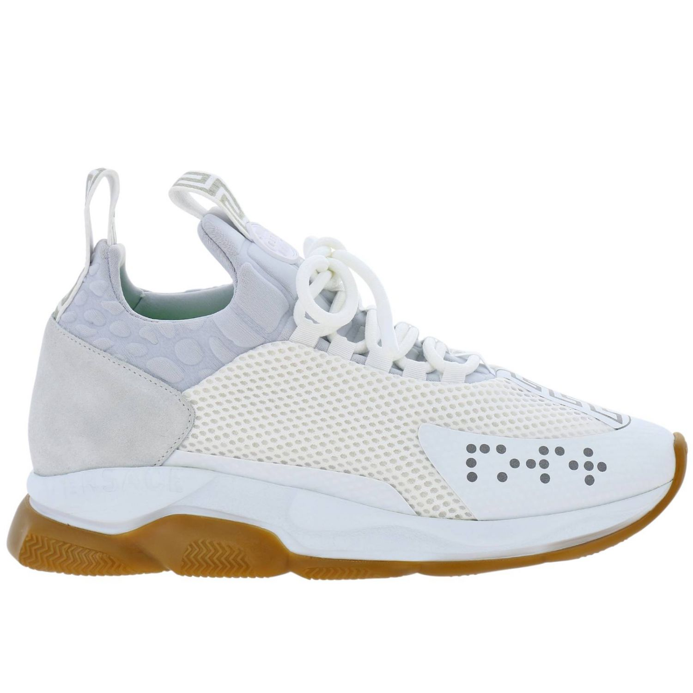 Schuhe herren Versace weiß 1
