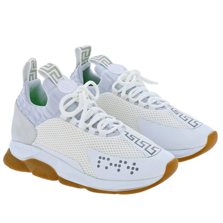 Shoes men Versace white 2