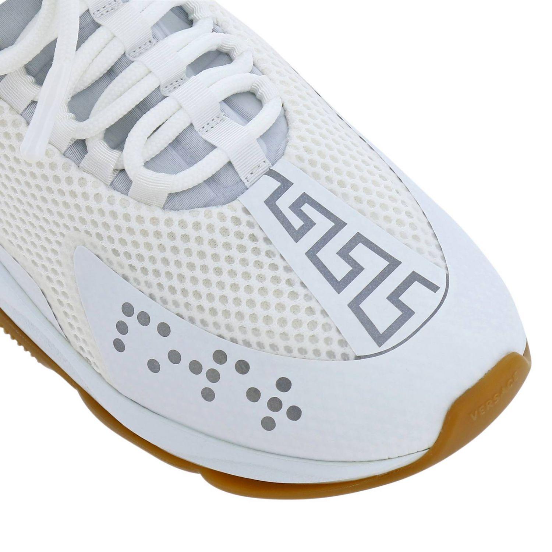 Shoes men Versace white 3