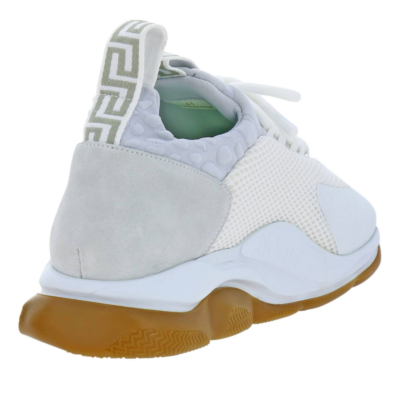 Shoes men Versace white 4