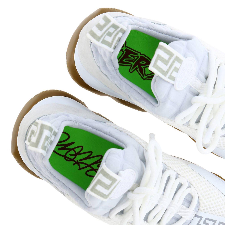 Shoes men Versace white 5