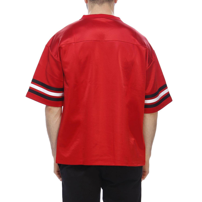 T-shirt men Versace red 3