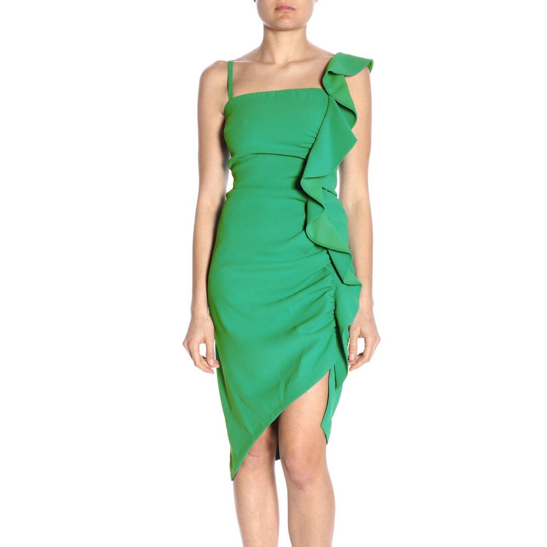 Vestido Pinko: Vestido mujer Pinko verde 1