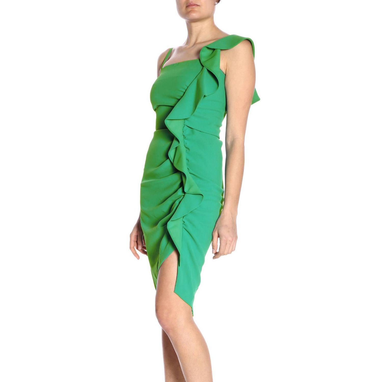 Vestido Pinko: Vestido mujer Pinko verde 2