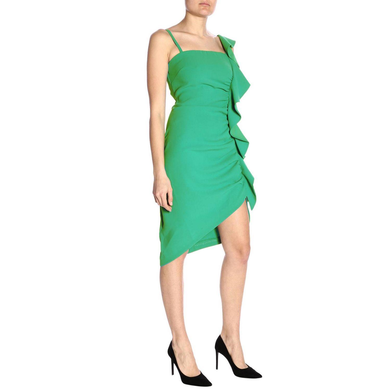 Vestido Pinko: Vestido mujer Pinko verde 4