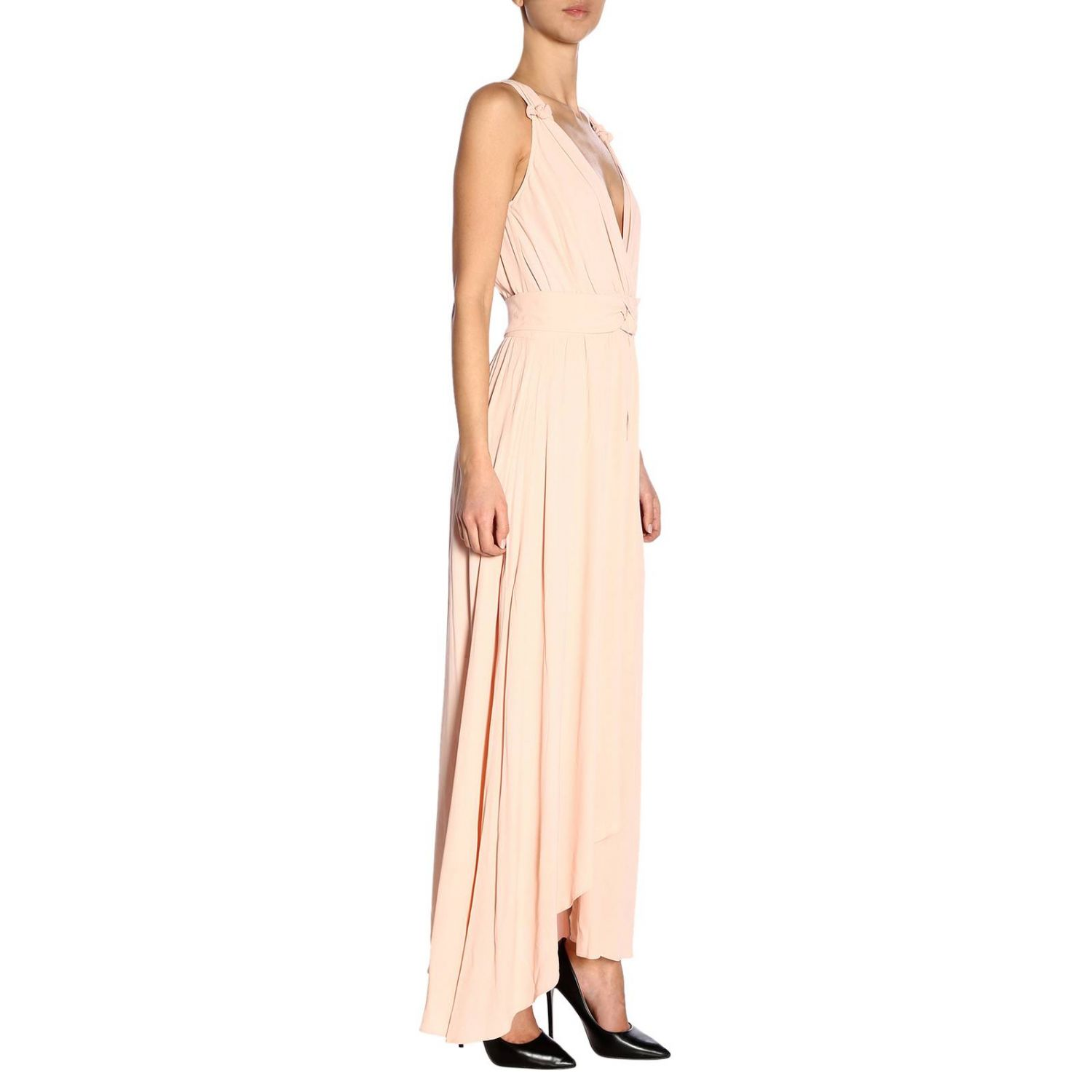 Dress Pinko: Dress women Pinko blush pink 2