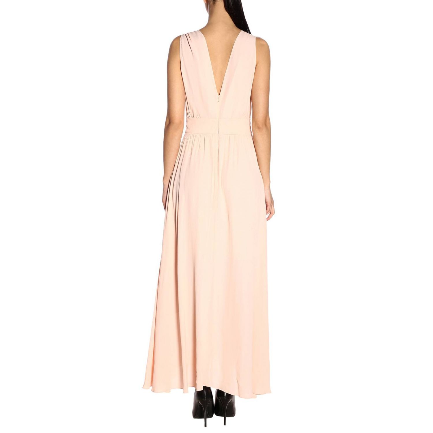 Dress Pinko: Dress women Pinko blush pink 3