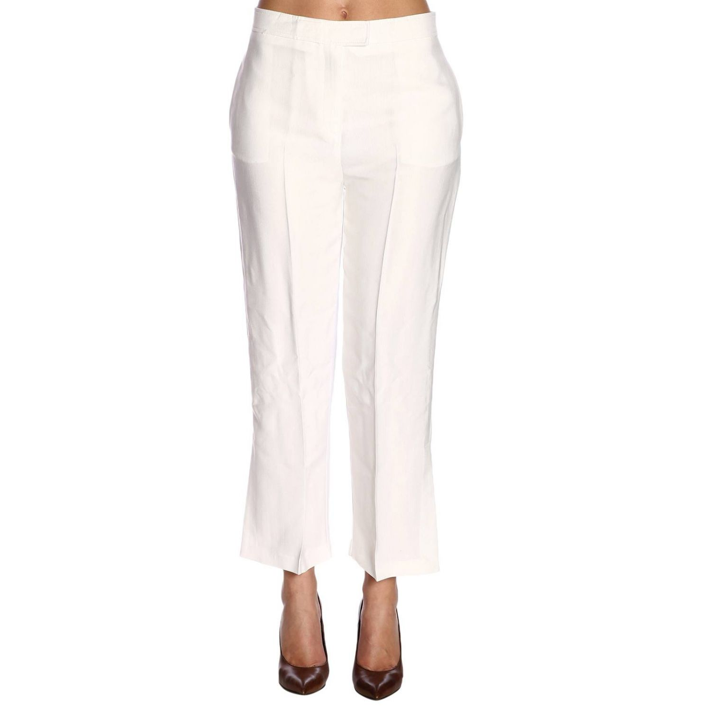Trousers Pinko: Trousers women Pinko white 1