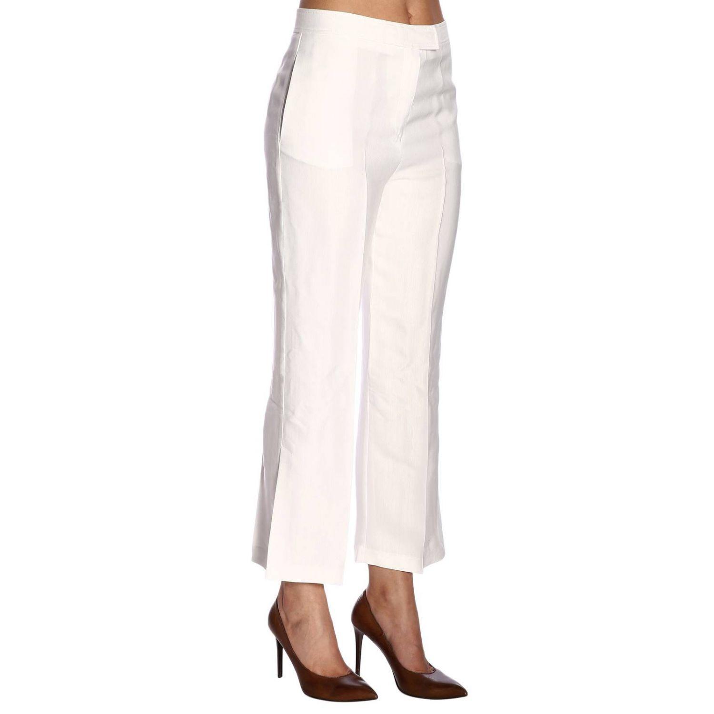 Trousers Pinko: Trousers women Pinko white 2