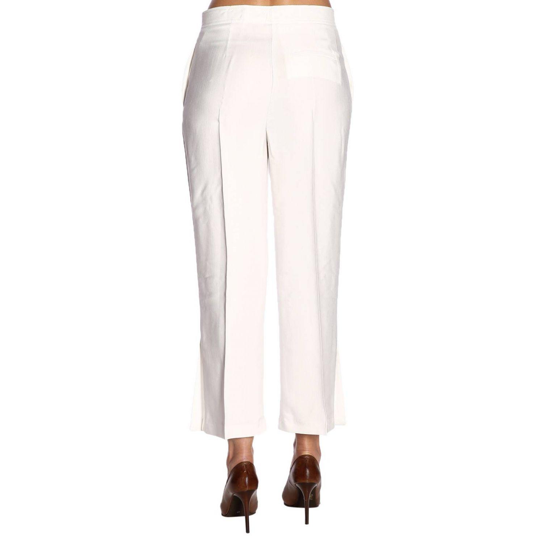Trousers Pinko: Trousers women Pinko white 3
