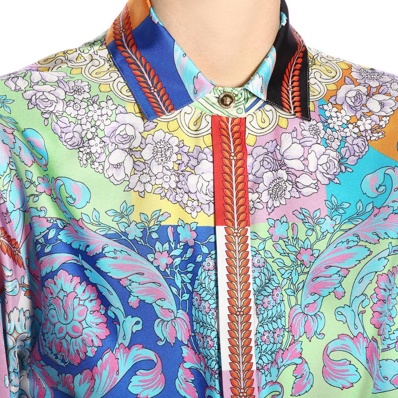 Dress women Versace multicolor 4