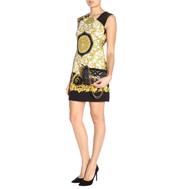 Shoulder bag women Versace black 2