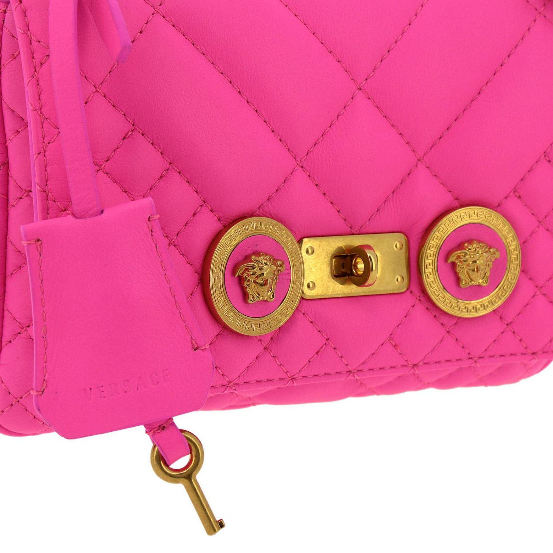 Schultertasche damen Versace fuchsia 4