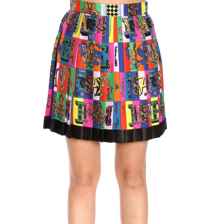 Skirt women Versace multicolor 1