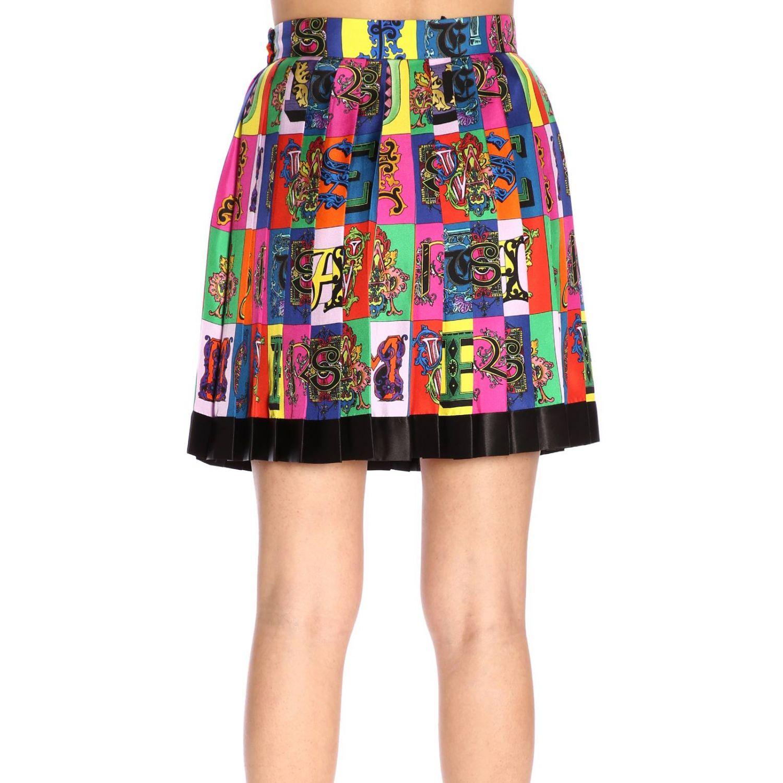 Skirt women Versace multicolor 3