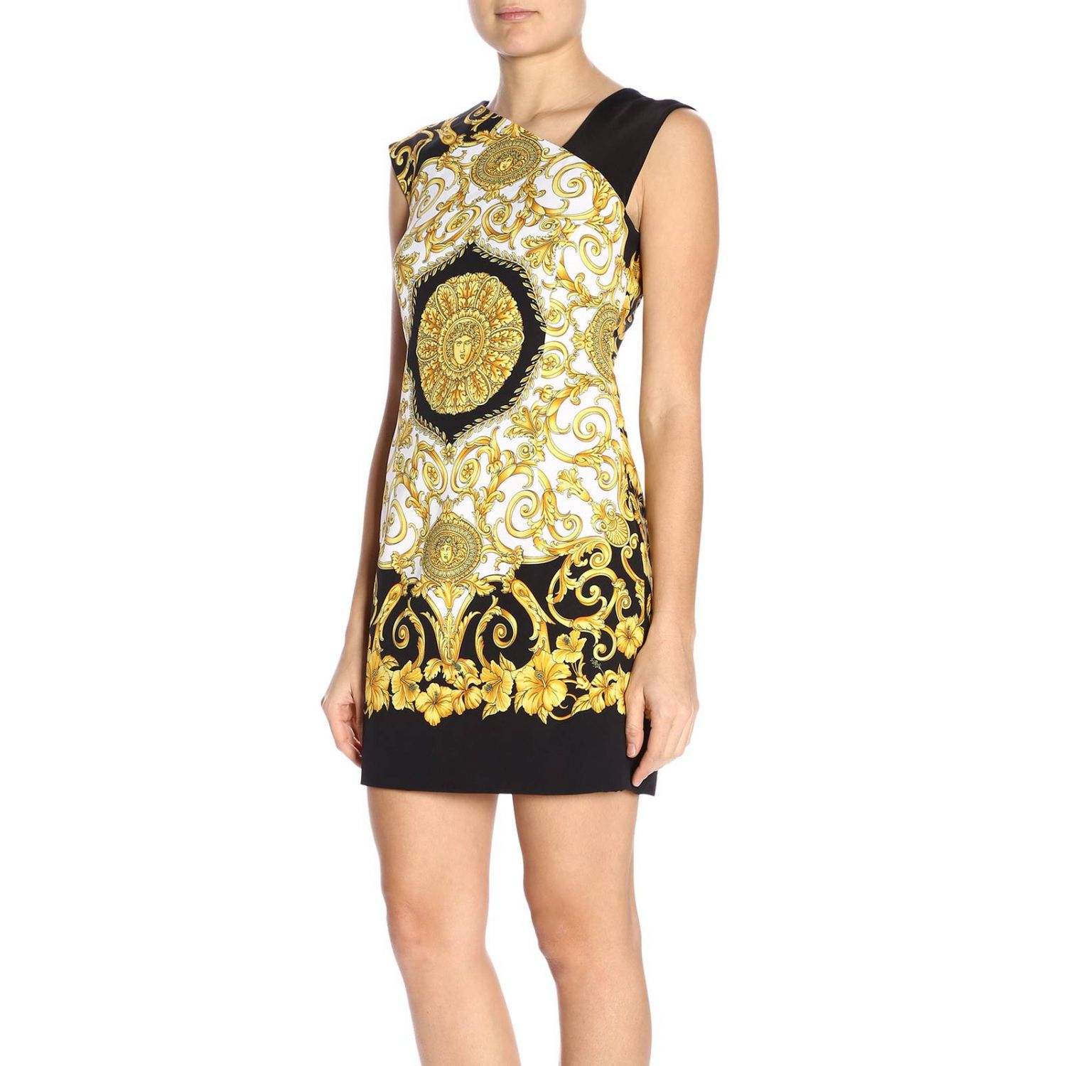 Dress women Versace multicolor 2